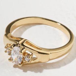 New Vanessa Mooney the shoney ring gold